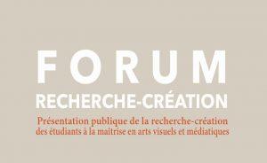 Forum recherche création